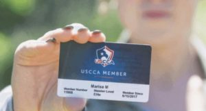 Card Carrying Woman member of USCCA