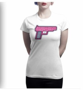 Iconic Women Pistol Tee shirt