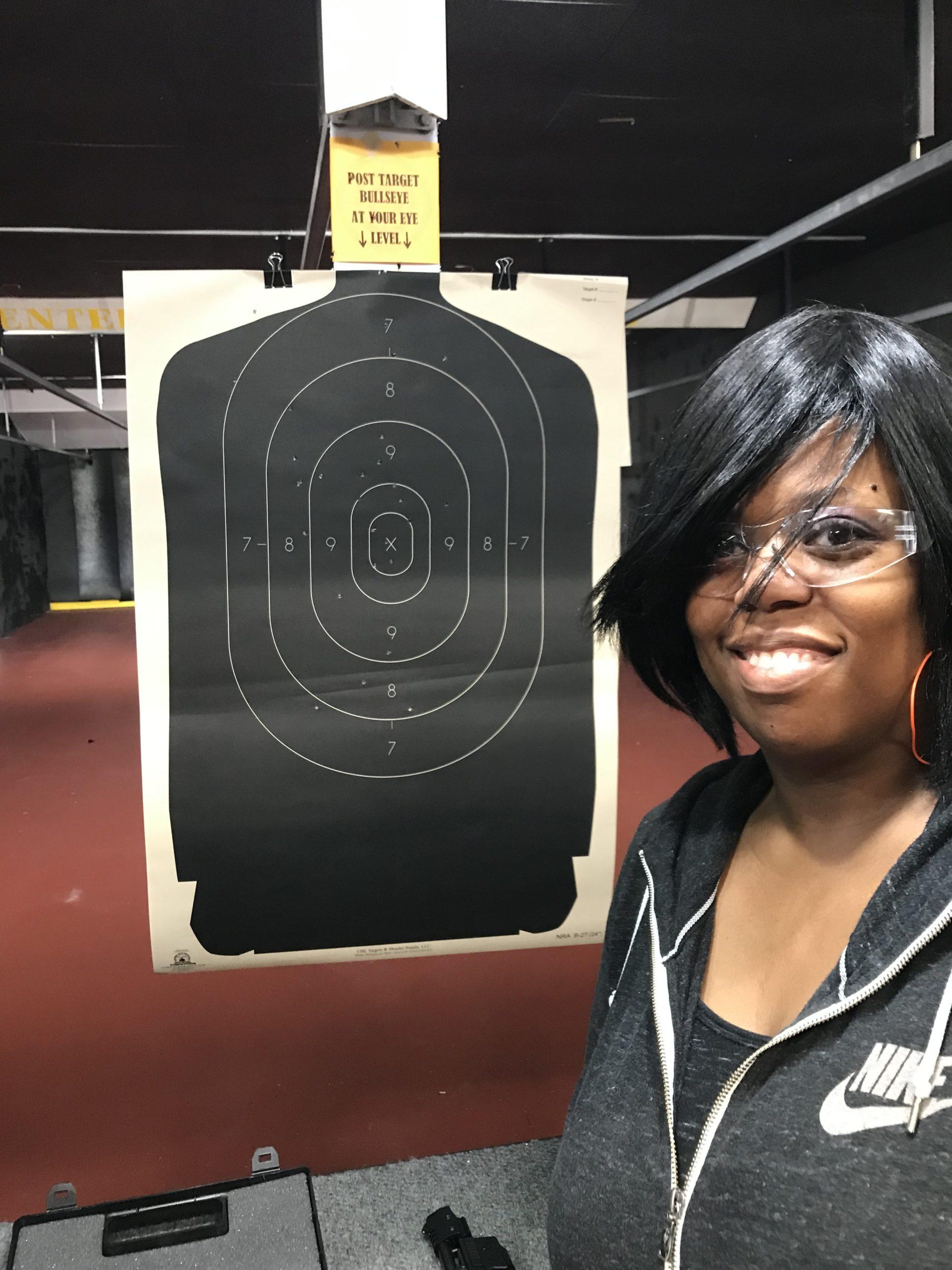 Woman at the Range | Pew Pew Guru