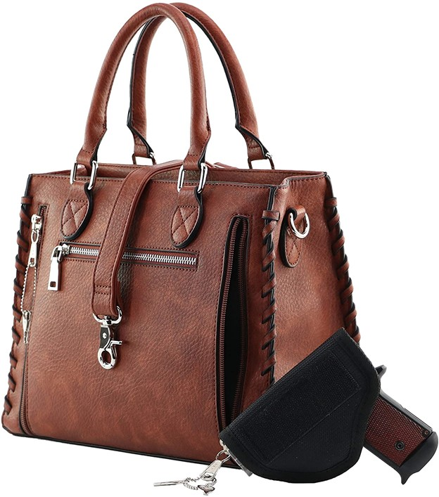 Laced Ann Satchel Concealed Carry Purse