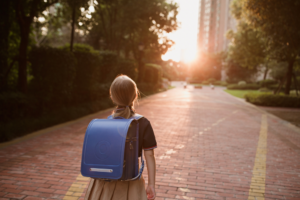 walking to school safely